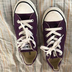 Converse Chuck Taylor Purple Sz3/5.5 boys/women's